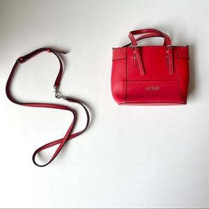 Guess Red Small Purse with Strap